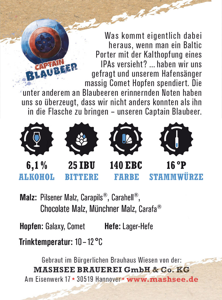 Captain Blaubeer